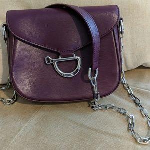Ralph Lauren purple crossbody